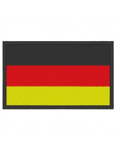Embroidery Germany flag