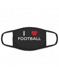 Mascherina protettiva I Love Football