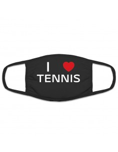 Protective mask I Love Tennis