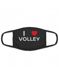 Protective mask I Love Volley