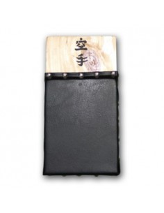 Makiwara traditionellen 15x28 schwarz