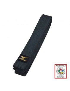 Belt Mizuno black Kuro IJF japan