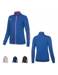 Sweatshirt Mizuno women's Team zip