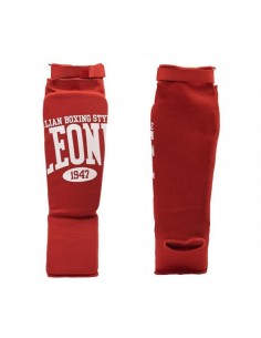 Shin-guards Lion Comfort red
