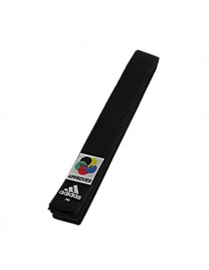 Belt Adidas Elite black karate WKF