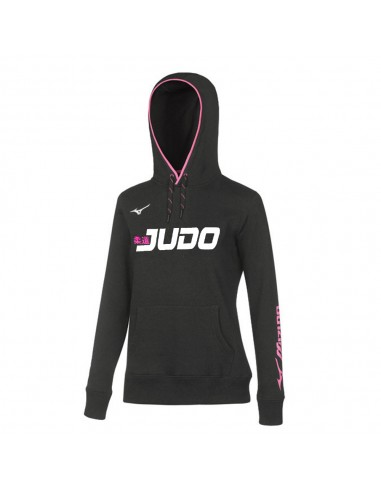 Sweatshirt Mizuno Judo woman Team with cap
