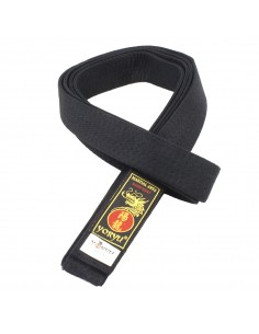Black belt Yoryu cotton