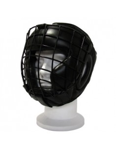 Helmet with grate detachable leather