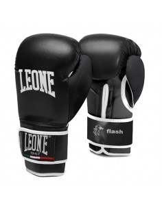 Guantoni boxe Leone Flash 8 oz nero