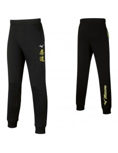 Pant, Mizuno Judo kanji man Team Sweat Black