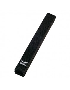 Belt Mizuno black martial arts