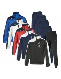 Suit Mizuno Budo man Team Knitted