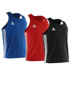 Tank top adidas boxing punch line