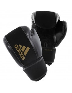 Guantes adidas lavable negro/oro