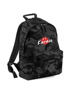 Backpack Karate camoblack