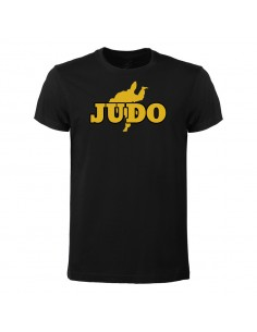 T-shirt Judo-gold in baumwolle