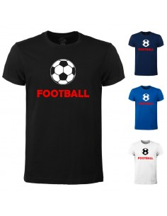 T-shirt Football cotton