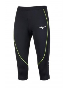 Pants Mizuno Running 3/4 JPN Long Tight, woman