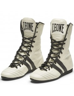Booties Leone 1947 boxing white