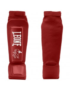 Shin-guards Lion Defender red